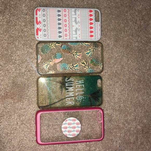 Accessories - Bundle of 4 Iphone 6s Cases